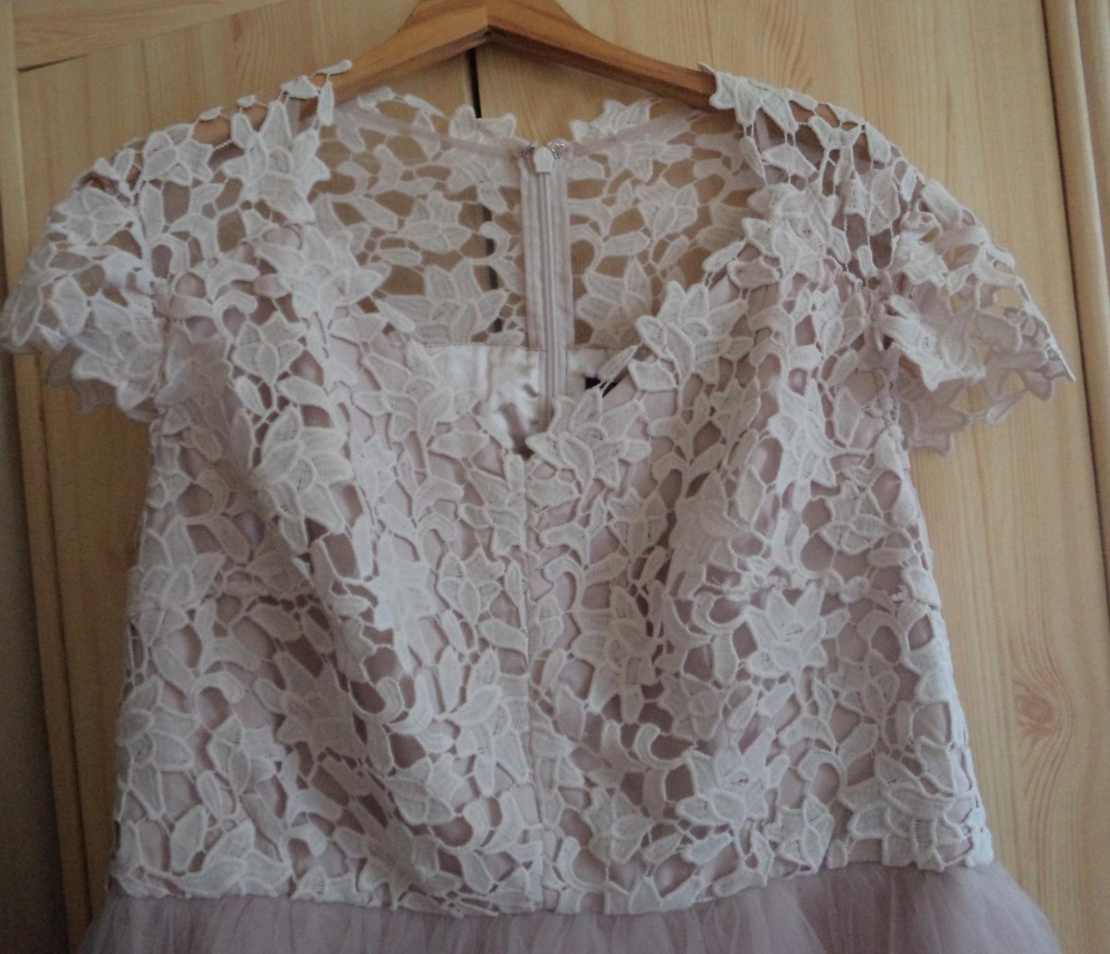 čipkovane šaty  - Obrázok č. 2