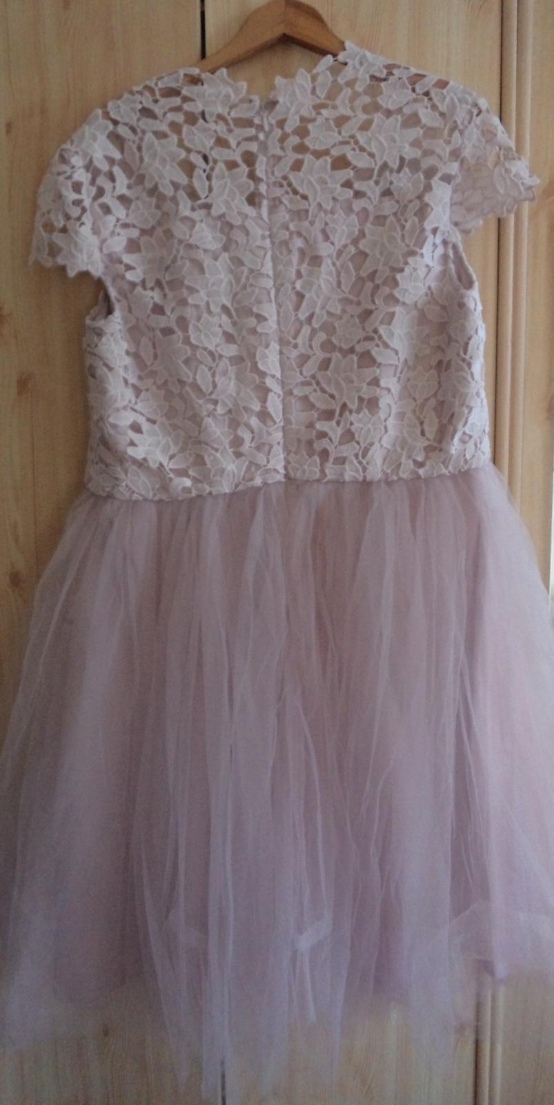 čipkovane šaty  - Obrázok č. 4