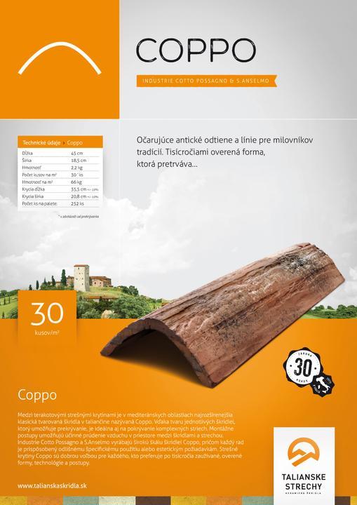 Talianske strechy - Katalóg - najkrajšie mediteranské krytiny za najvýhodnejšie ceny. Vďaka svojej kvalite sú určené na použitie vo všetkých krajinách EÚ! - Obrázok č. 2