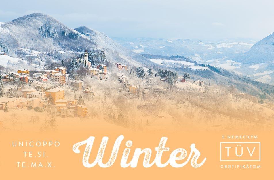 """Talianske strechy - WINTER - Jedinečné a zákazníkmi tak vyhľadávané krytiny od Industrie Cotto Possagno milujú zimu… Nemecký TÜV certifikát, označenie """"Winter"""" a spokojní majitelia tých najkrajších striech po celom svete Vás zaručene presvedčia."""