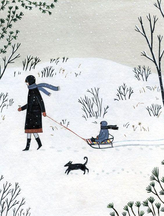 Ilustrované Vianoce - Obrázok č. 11