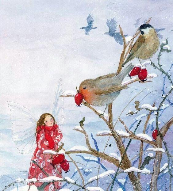 Ilustrované Vianoce - Obrázok č. 1