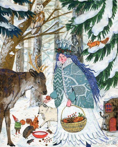 Ilustrované Vianoce - Obrázok č. 16