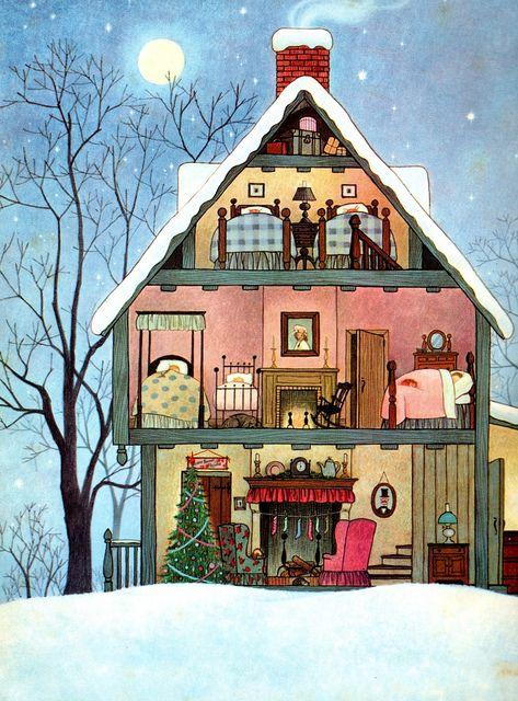Ilustrované Vianoce - Obrázok č. 21