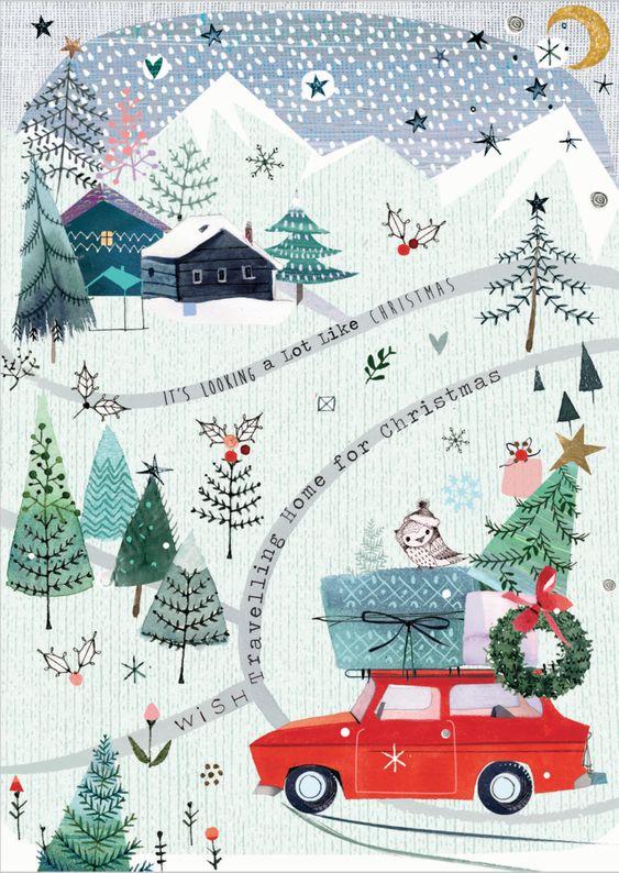 Ilustrované Vianoce - Obrázok č. 23
