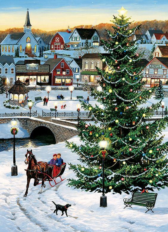 Ilustrované Vianoce - Obrázok č. 25