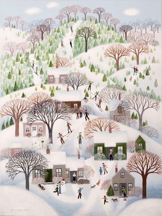 Ilustrované Vianoce - Obrázok č. 27