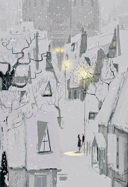 Ilustrované Vianoce - Obrázok č. 28
