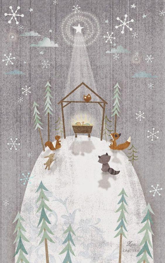 Ilustrované Vianoce - Obrázok č. 29