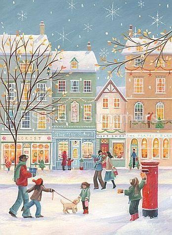 Ilustrované Vianoce - Obrázok č. 30