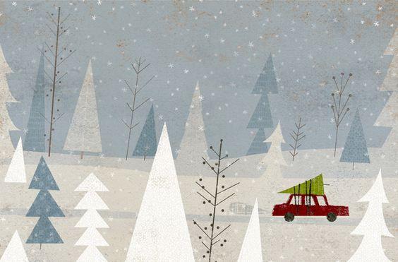 Ilustrované Vianoce - Obrázok č. 32