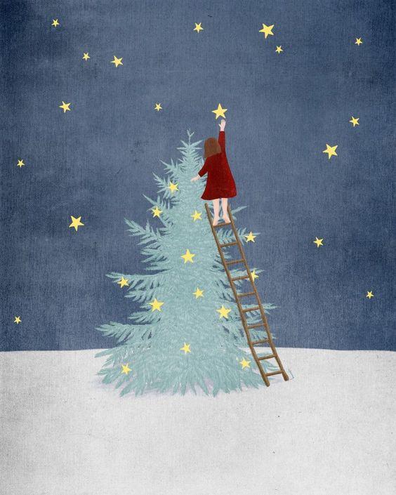 Ilustrované Vianoce - Obrázok č. 34