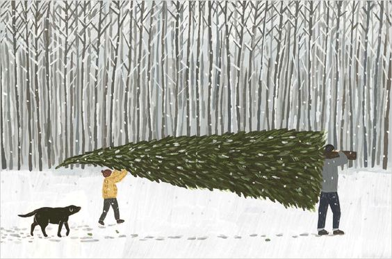 Ilustrované Vianoce - Obrázok č. 35
