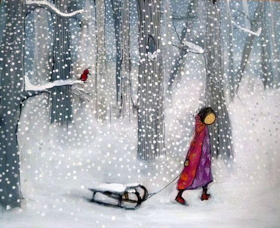 Ilustrované Vianoce - Obrázok č. 36