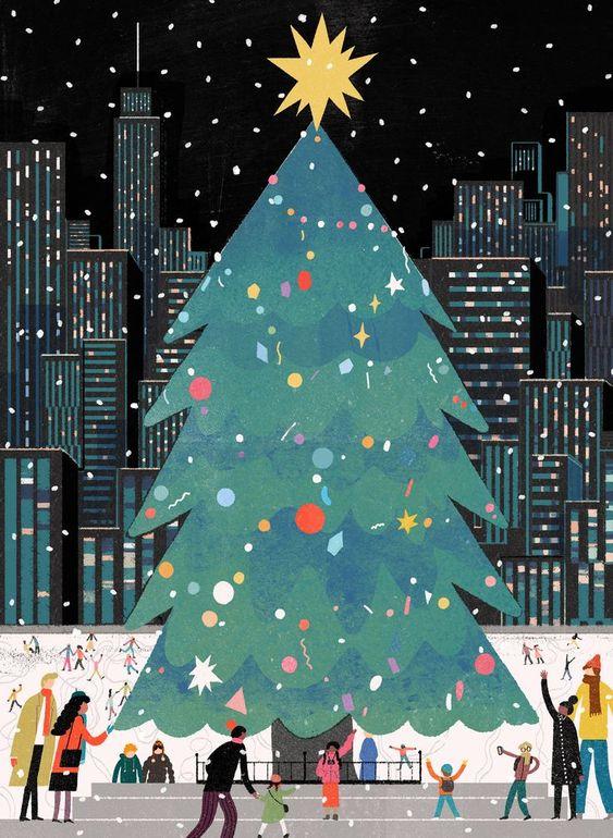 Ilustrované Vianoce - Obrázok č. 38