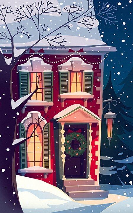 Ilustrované Vianoce - Obrázok č. 39