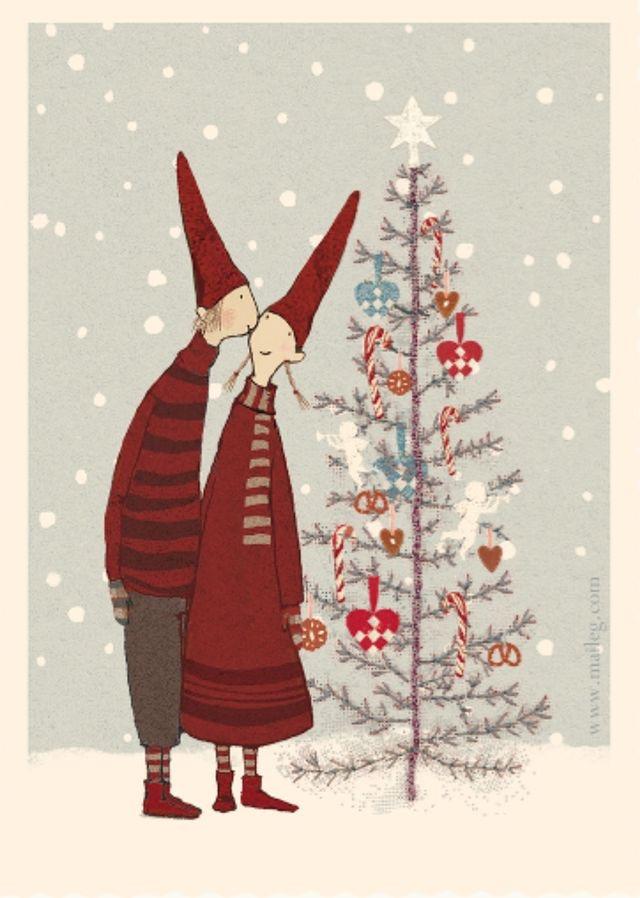 Ilustrované Vianoce - Obrázok č. 40