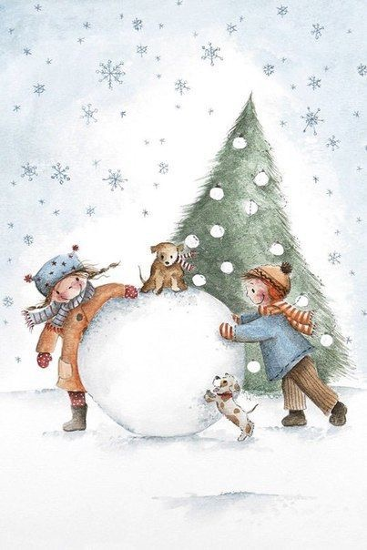 Ilustrované Vianoce - Obrázok č. 41