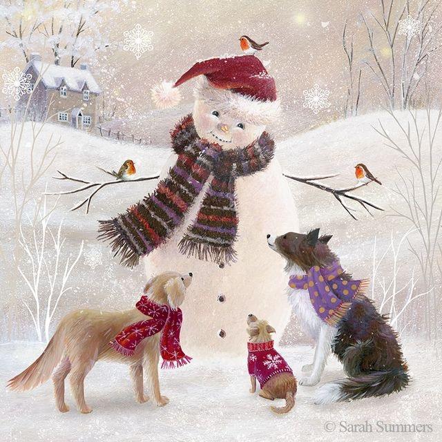 Ilustrované Vianoce - Obrázok č. 51