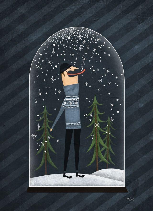 Ilustrované Vianoce - Obrázok č. 57