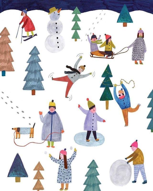 Ilustrované Vianoce - Obrázok č. 59
