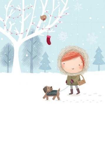 Ilustrované Vianoce - Obrázok č. 60