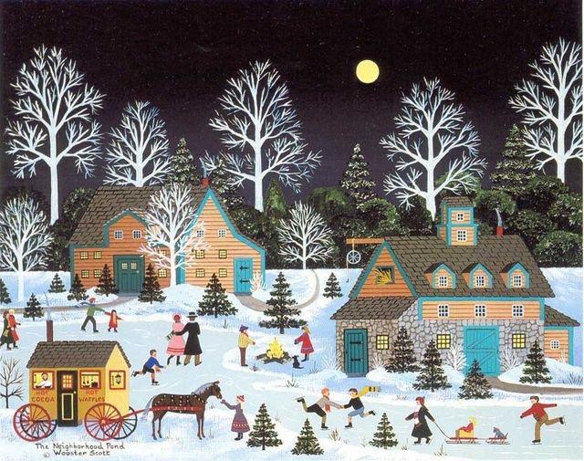 Ilustrované Vianoce - Obrázok č. 62