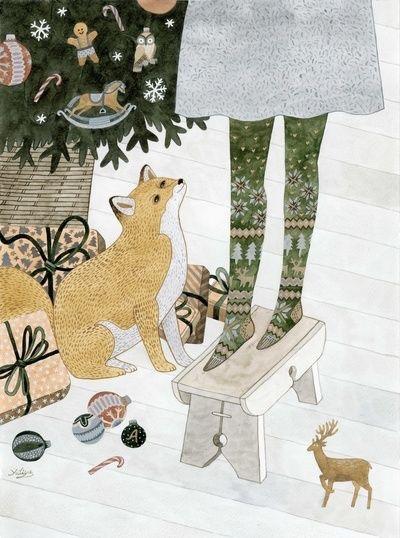 Ilustrované Vianoce - Obrázok č. 70