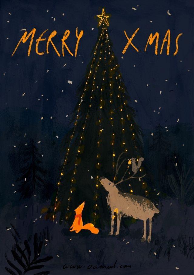 Ilustrované Vianoce - Obrázok č. 72