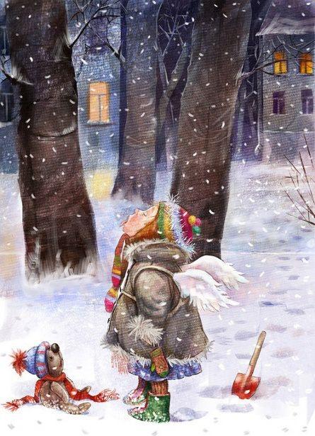 Ilustrované Vianoce - Obrázok č. 73
