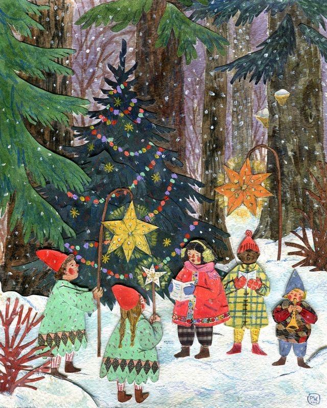 Ilustrované Vianoce - Obrázok č. 75