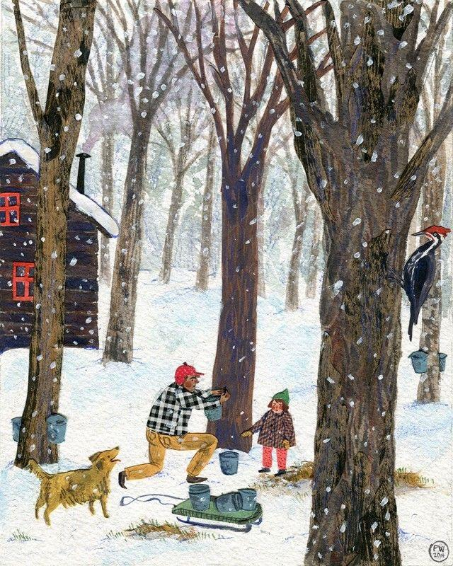 Ilustrované Vianoce - Obrázok č. 76