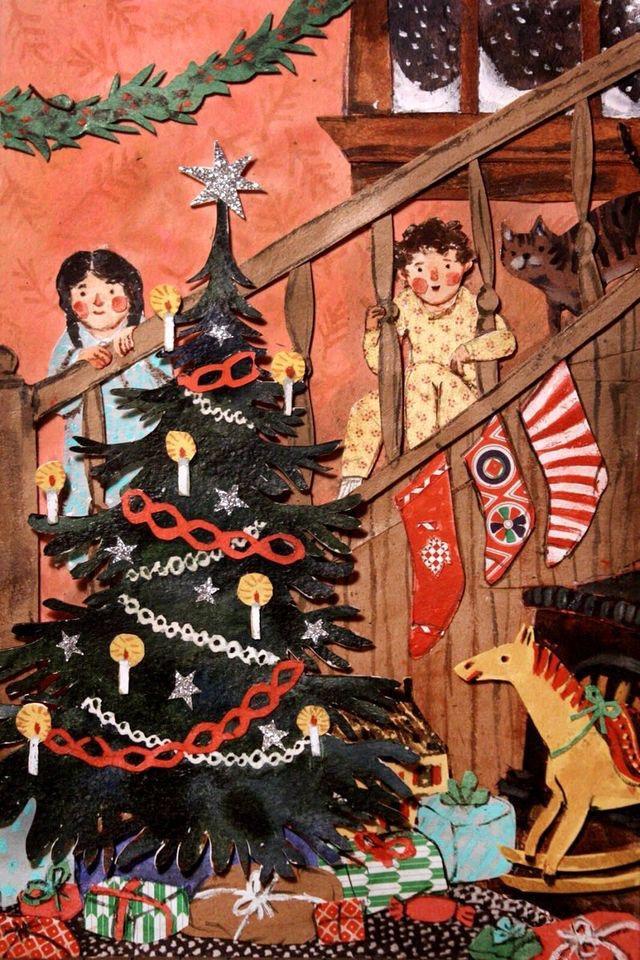 Ilustrované Vianoce - Obrázok č. 77