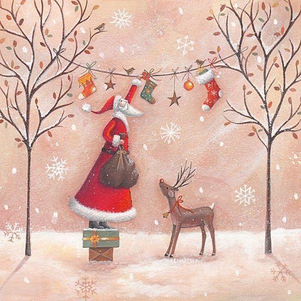 Ilustrované Vianoce - Obrázok č. 79