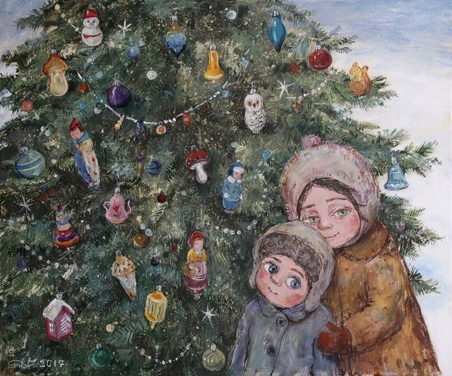 Ilustrované Vianoce - Obrázok č. 80