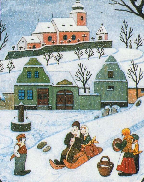 Ilustrované Vianoce - Obrázok č. 84
