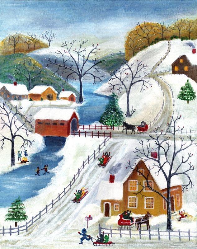 Ilustrované Vianoce - Obrázok č. 89
