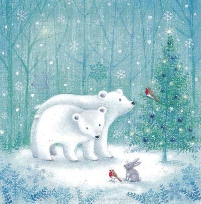 Ilustrované Vianoce - Obrázok č. 100
