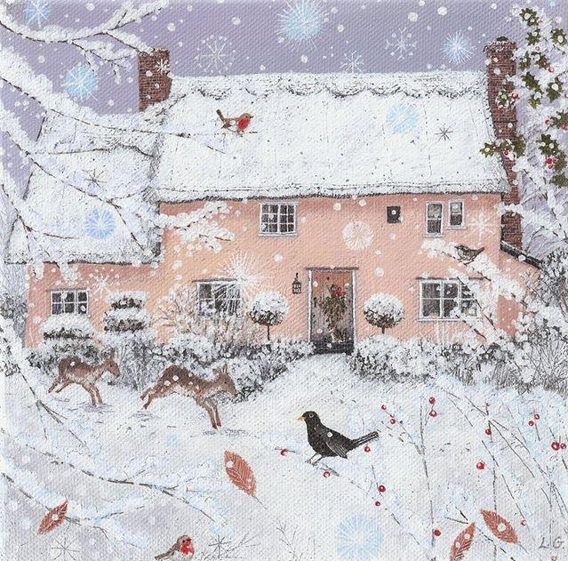 Ilustrované Vianoce - Obrázok č. 107
