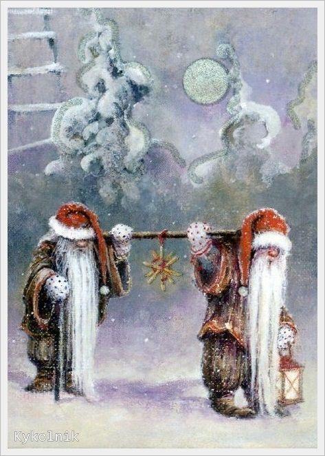 Ilustrované Vianoce - Obrázok č. 108