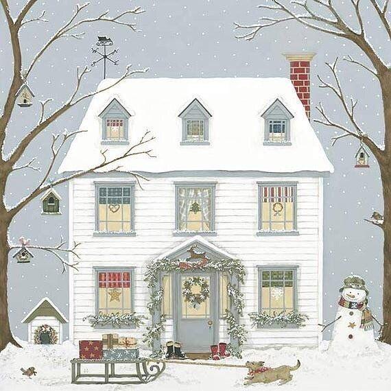 Ilustrované Vianoce - Obrázok č. 110