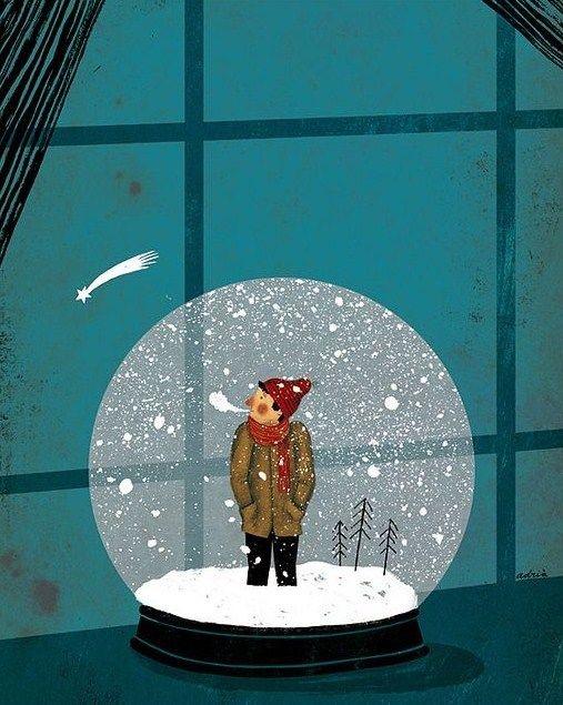 Ilustrované Vianoce - Obrázok č. 123