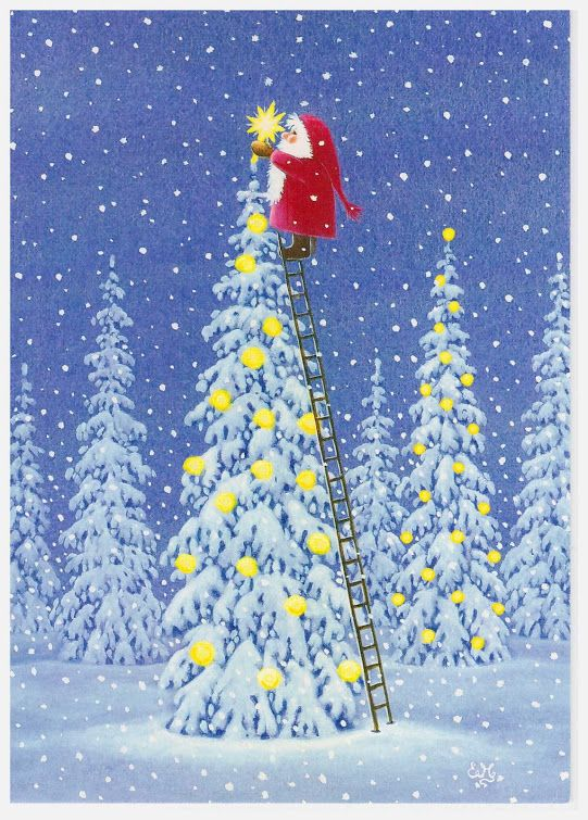 Ilustrované Vianoce - Obrázok č. 131