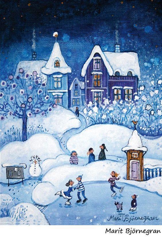 Ilustrované Vianoce - Obrázok č. 132