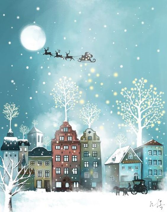 Ilustrované Vianoce - Obrázok č. 133