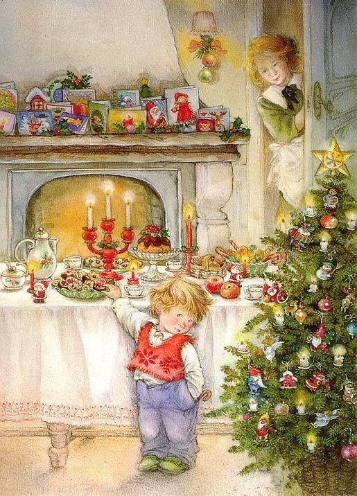 Ilustrované Vianoce - Obrázok č. 134