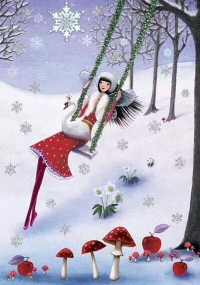 Ilustrované Vianoce - Obrázok č. 135