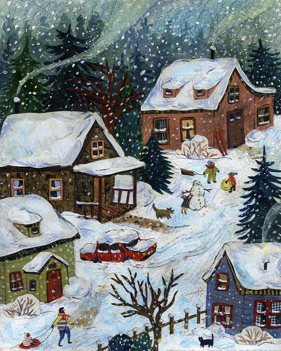 Ilustrované Vianoce - Obrázok č. 137