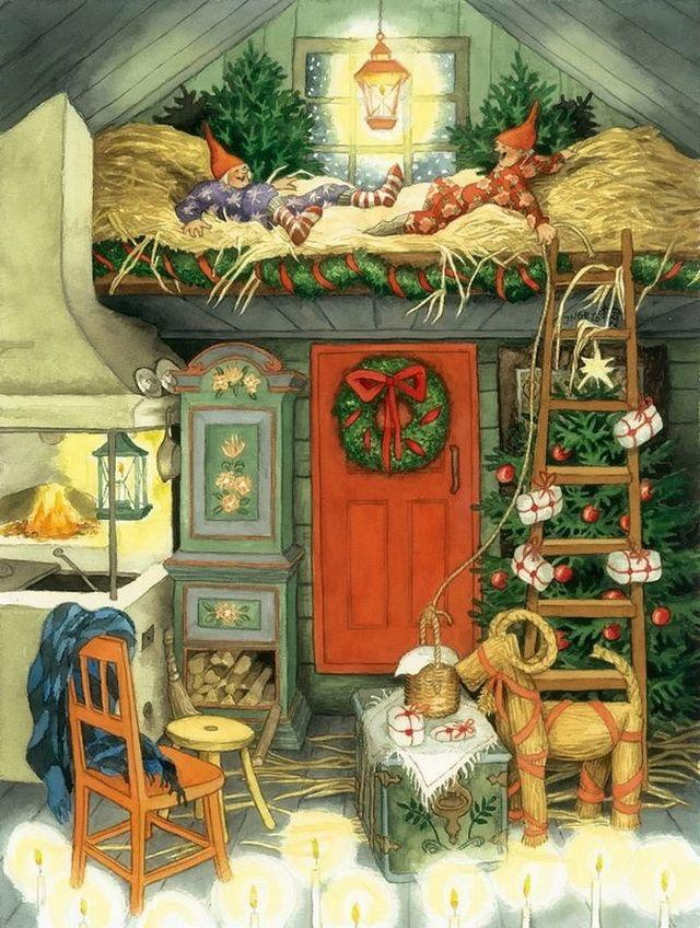 Ilustrované Vianoce - Obrázok č. 315