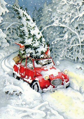 Ilustrované Vianoce - Obrázok č. 328